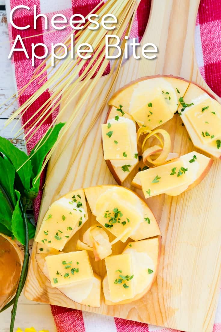 Cheese Apple Bite LowCarbingAsian Pin 1