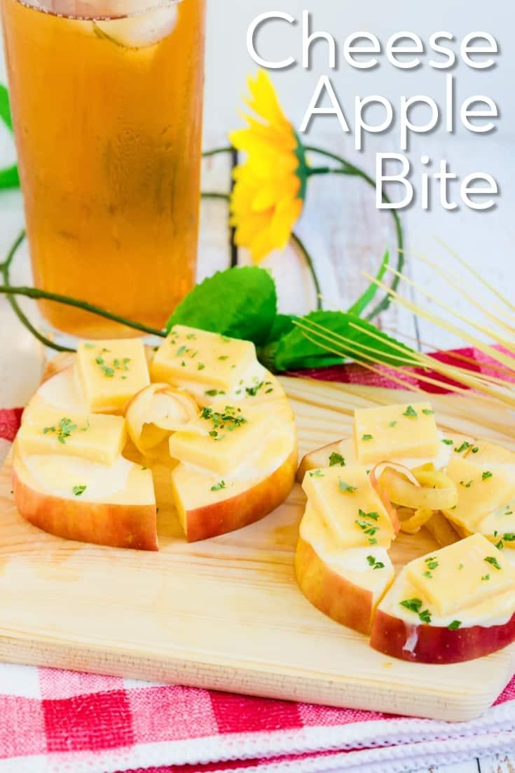 Cheese Apple Bite
