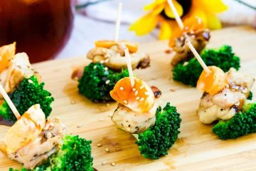 Chicken Orange Broccoli Bites LowCarbingAsian Cover