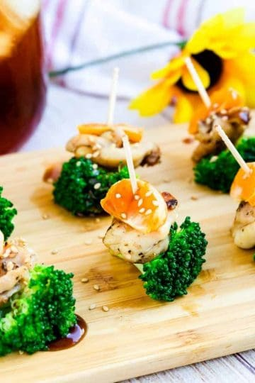 Chicken Orange Broccoli Bites LowCarbingAsian Cover