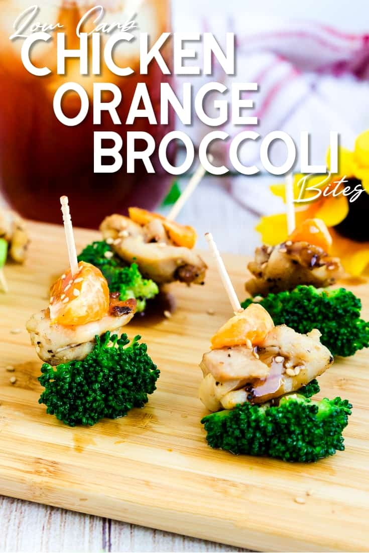 Chicken Orange Broccoli Bites