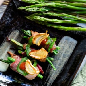 keto Bacon Wrapped Asparagus cover
