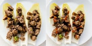 Ground Beef & Mushroom Endive Recipe (28)