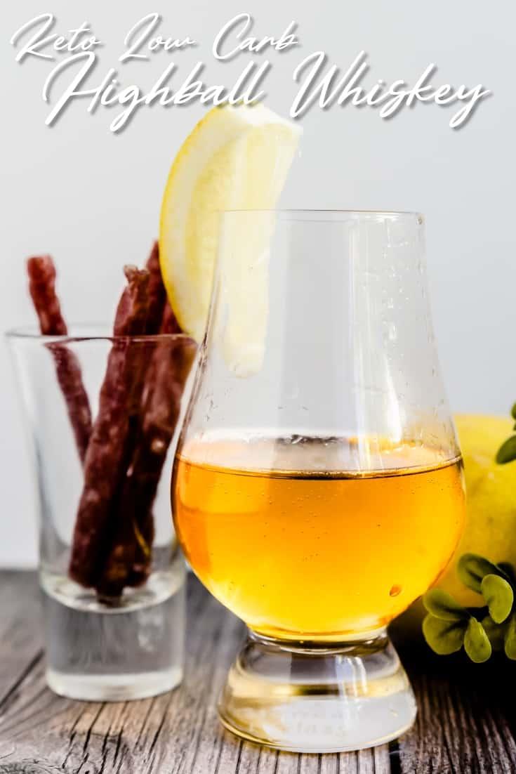 Highball Whiskey Soda