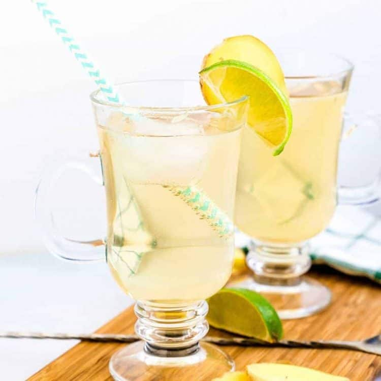Homemade Keto Ginger Ale LowCarbingAsian Cover