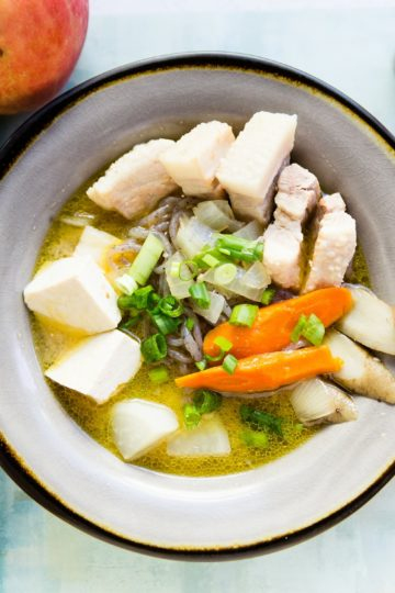 Low Carb Tonjiru Pork Miso Soup cover