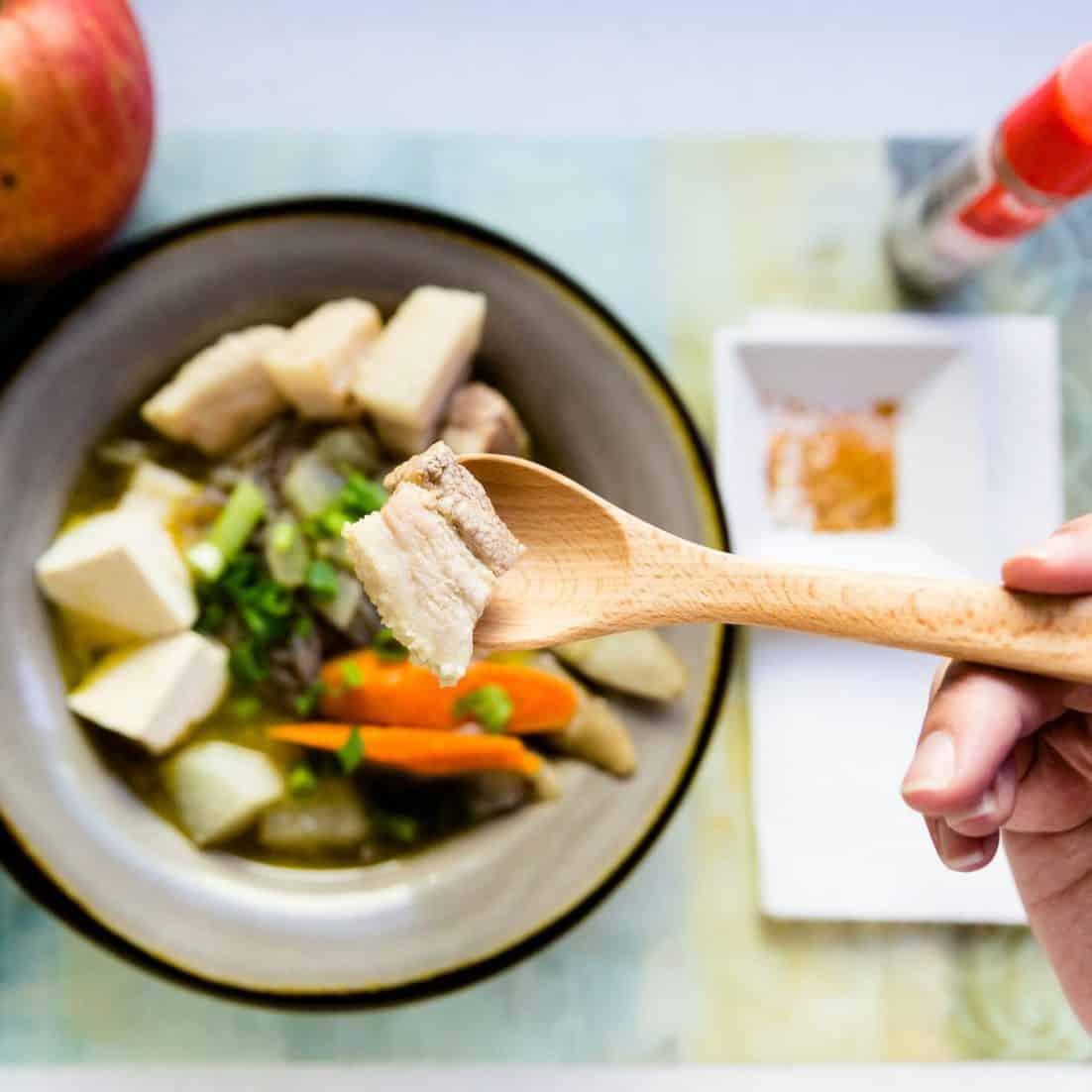 Low Carb Tonjiru Pork Miso Soup pic