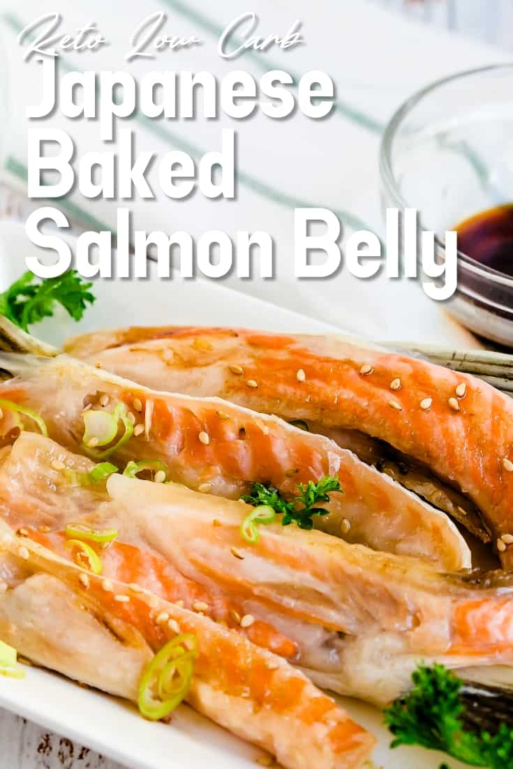 Japanese Baked Salmon Belly LowCarbingAsian Pin 2