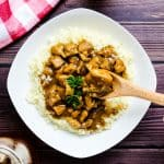 Japanese Curry with Cauliflower Rice LowCarbingAsian Cover