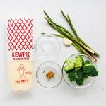 Japanese Miso Mayo Vegetables Recipe (1)