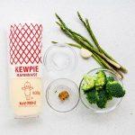 Japanese Miso Mayo Vegetables Recipe (1)