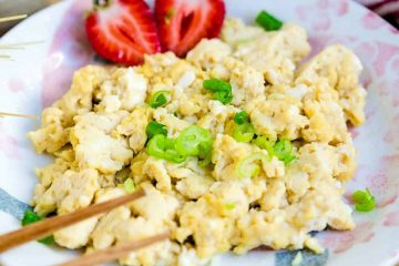 Japanese Scrambled Eggs LowCarbingAsain Cover 2