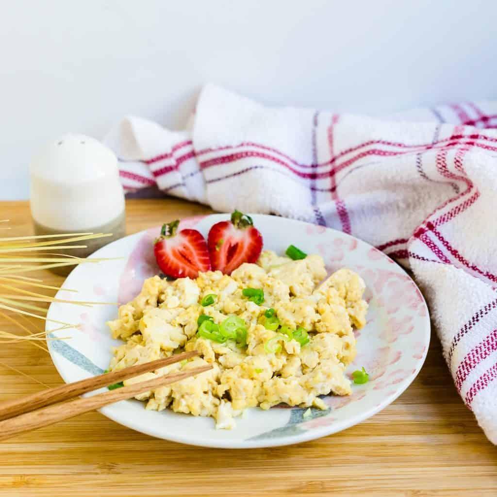 Japanese Scrambled Eggs LowCarbingAsian Pic 2
