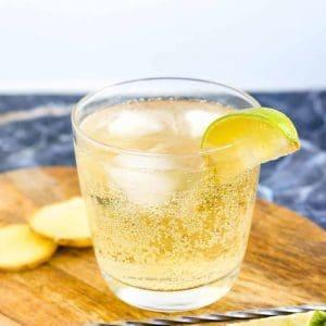 Keto Ginger Whiskey Soda LowCarbingAsian Cover