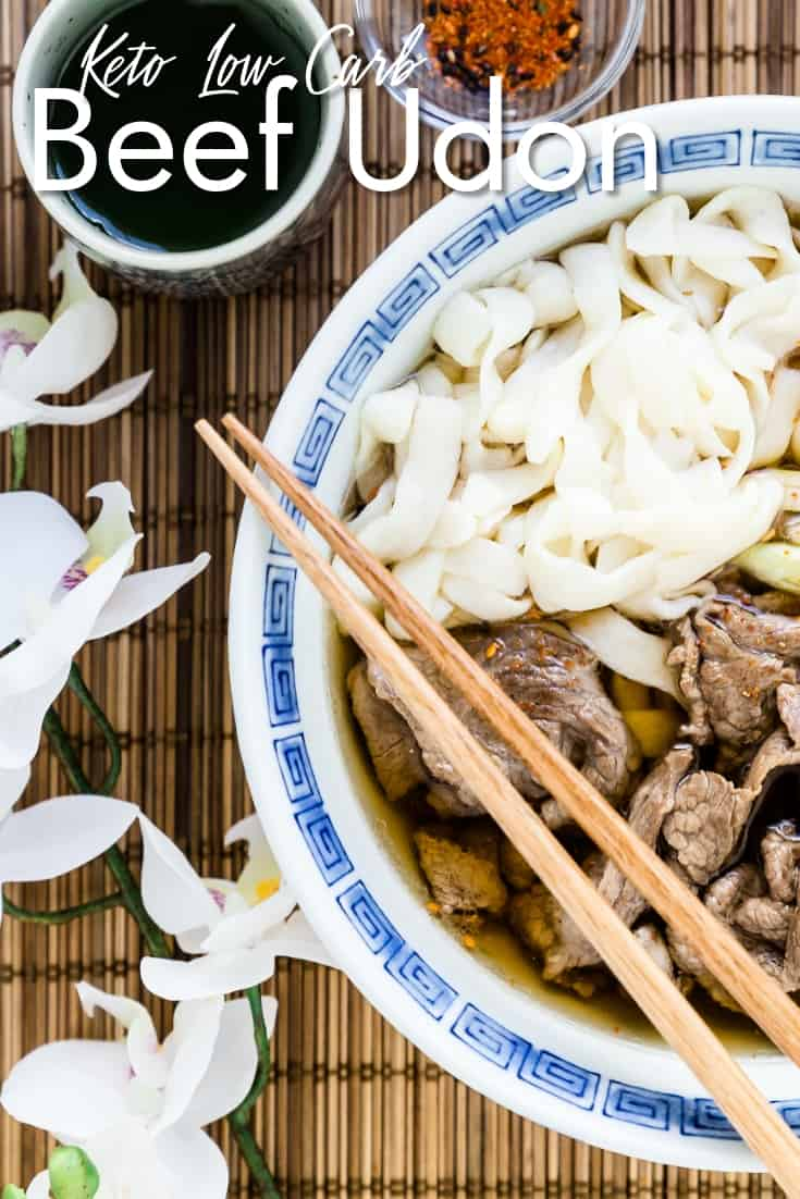 Keto Low Carb Beef Udon LowCarbingAsian Pin 2