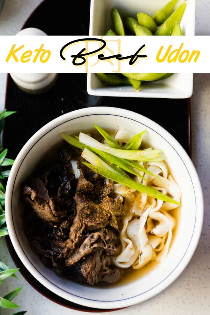Keto Low Carb Beef Udon Pin 1