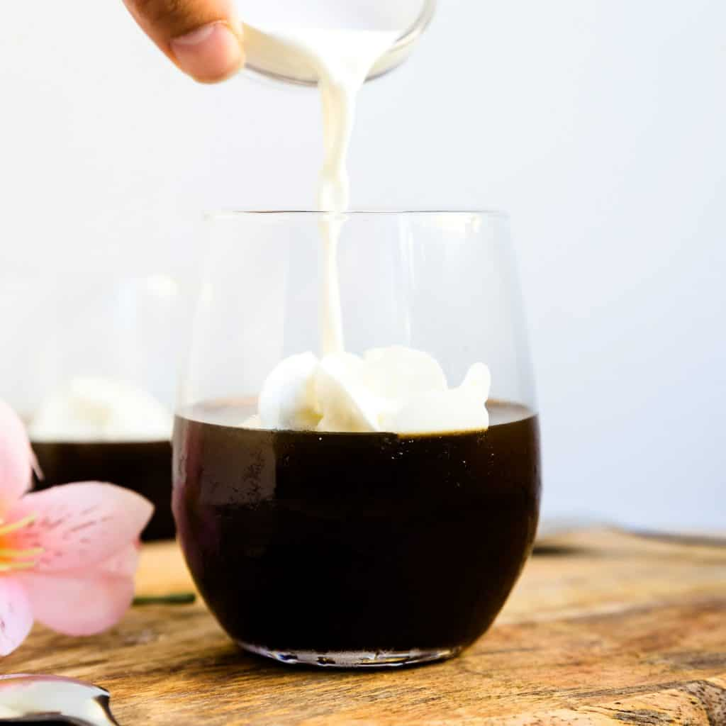 Keto Low Carb Coffee Jelly LowCarbingAsian Pic 1