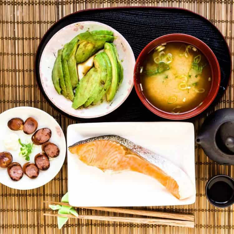 Keto Low Carb Japanese Breakfast LowCarbingAsian Cover