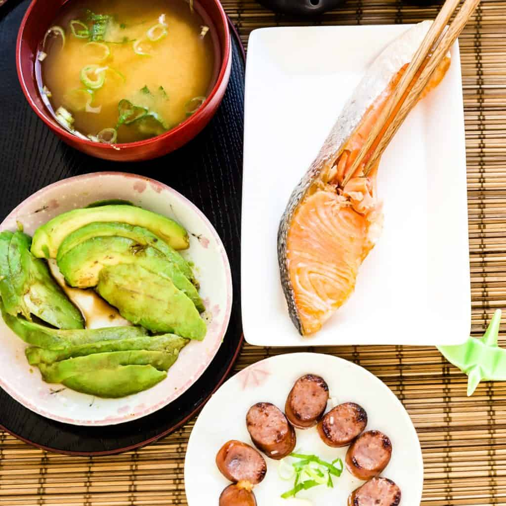 Keto Low Carb Japanese Breakfast LowCarbingAsian Pic 1