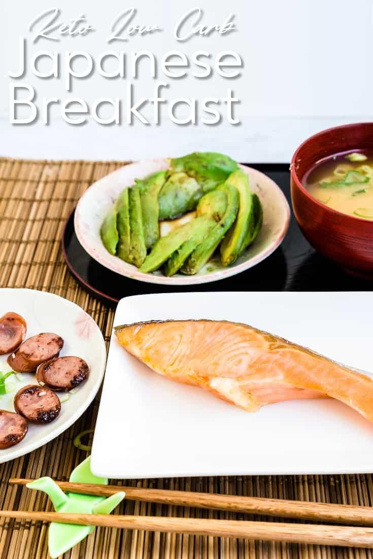 Keto Low Carb Japanese Breakfast LowCarbingAsian Pin 1