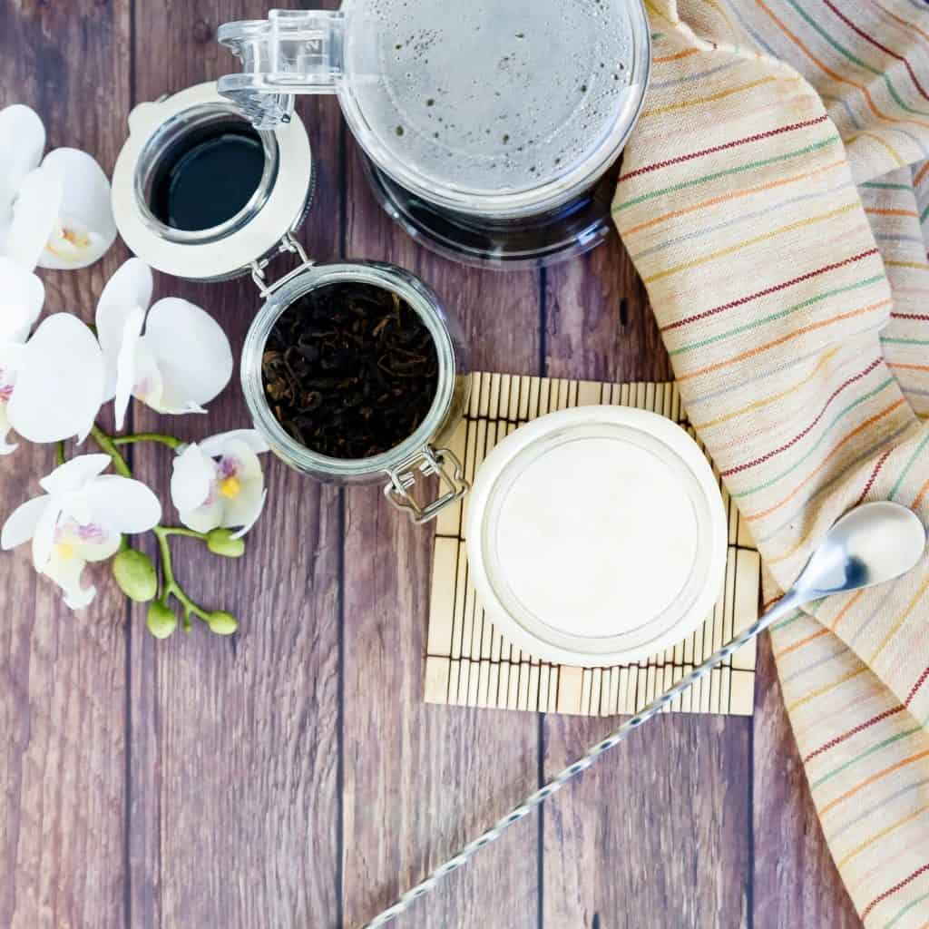 Keto Low Carb Milk Tea LowCarbingAsian Pic 1