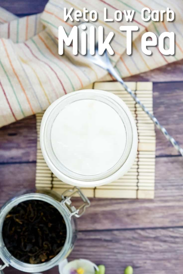 Keto Low Carb Milk Tea LowCarbingAsian Pin 1