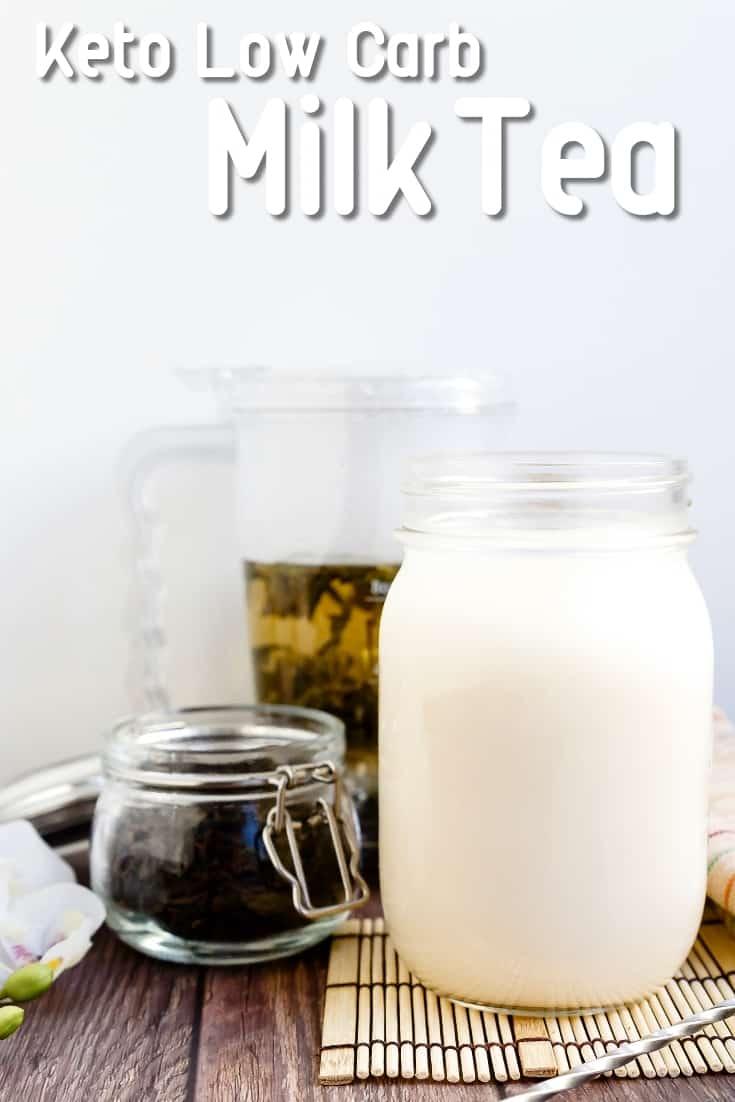 Keto Low Carb Milk Tea LowCarbingAsian Pin 2