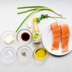 Keto Low Carb Yuzu Japanese Style Seared Salmon Recipe (1)