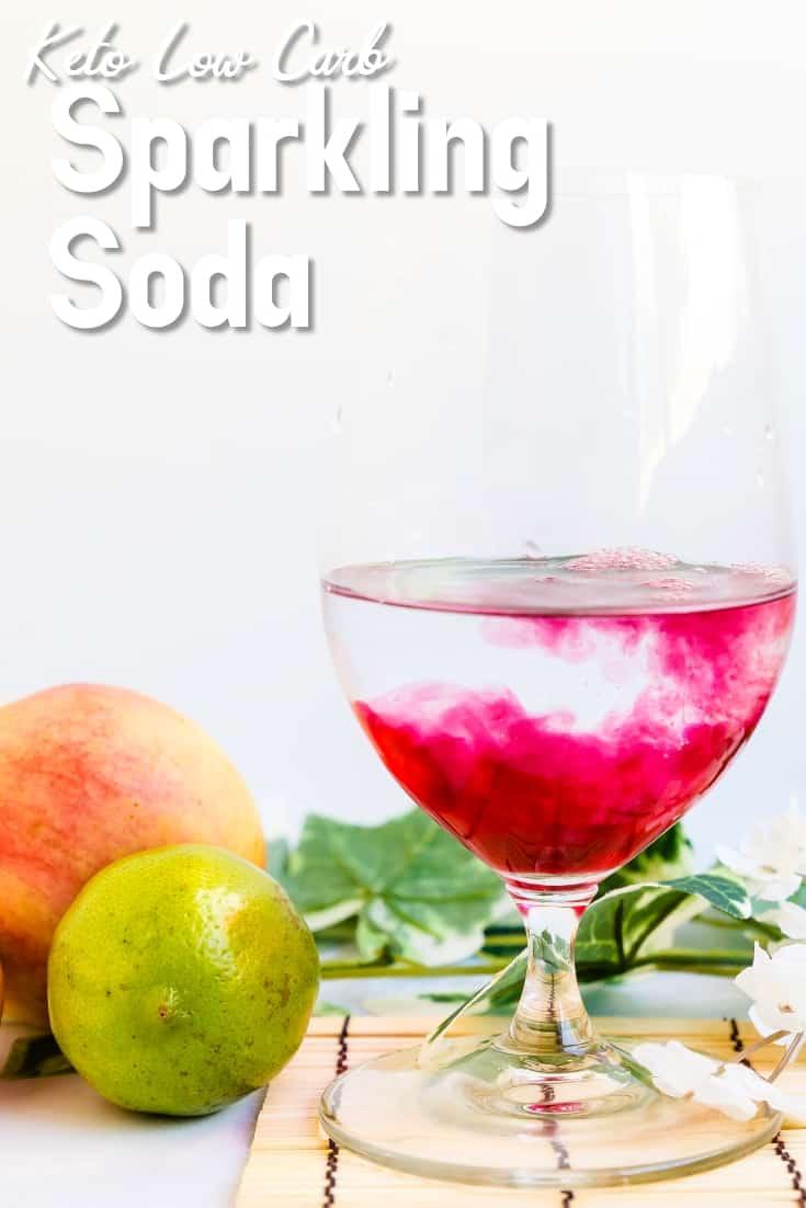 Keto Sparkling Soda LowCarbingAsian Pin 2