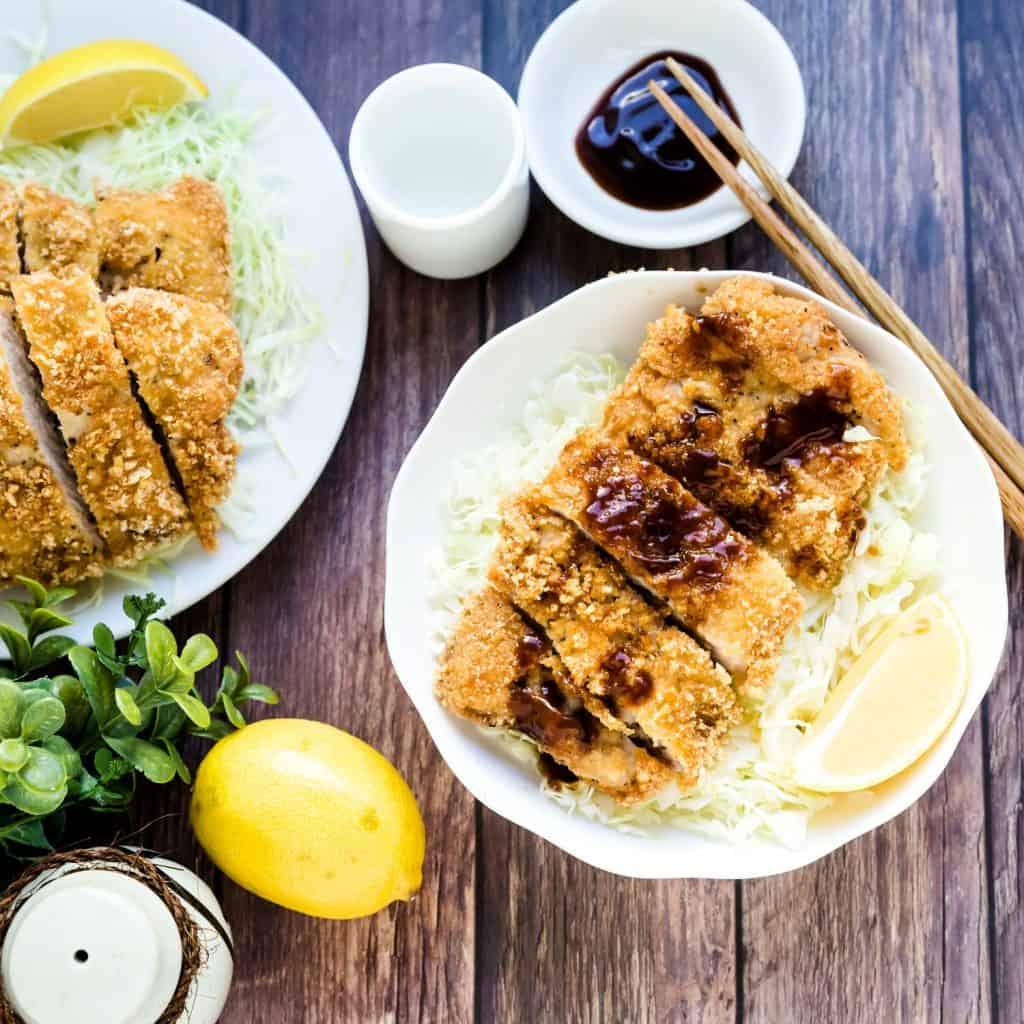 Keto Tonkatsu Japanese Pork Cutlet LowCarbingAsian Pic 2