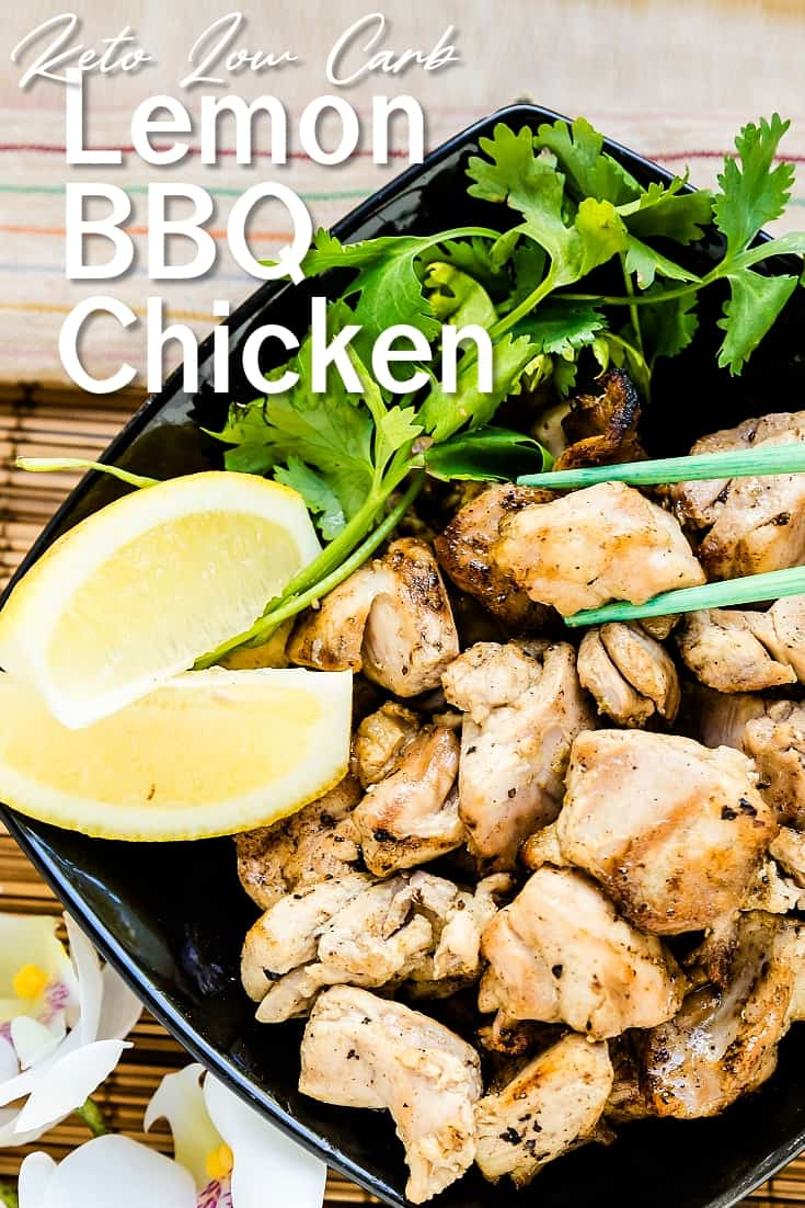 Lemon BBQ Chicken LowCarbingAsian Pin 1