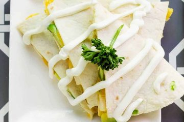 Low Carb Chicken Cheese Quesadilla LowCarbingAsian Cover 2