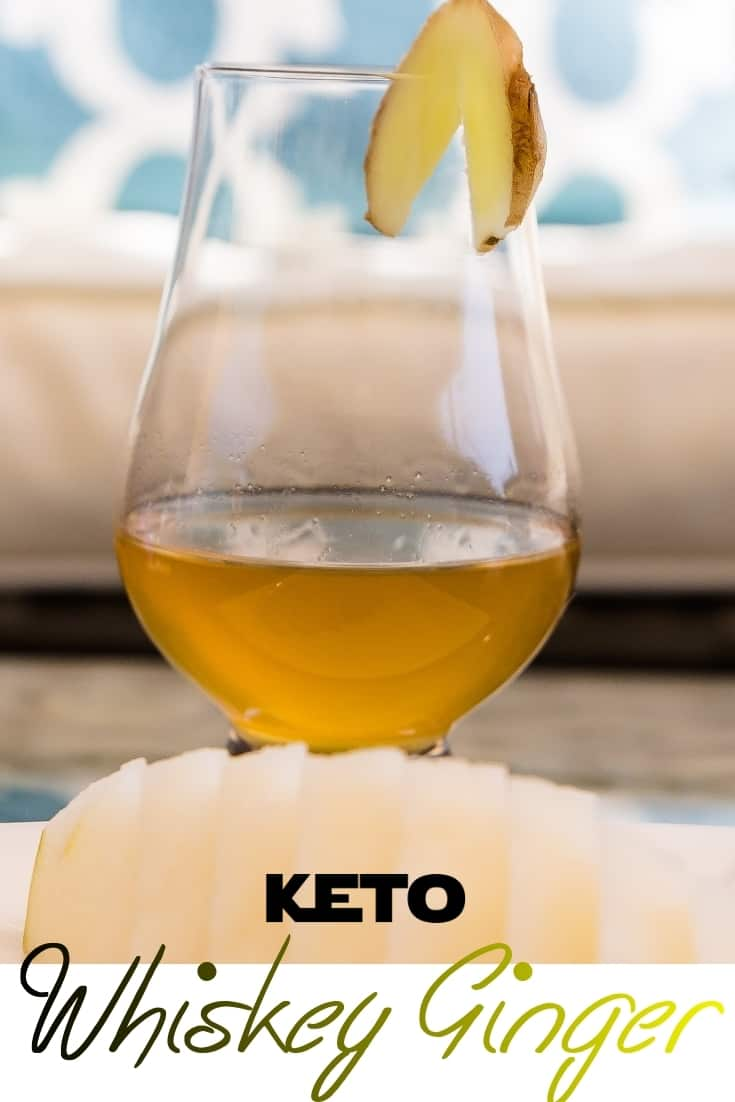 keto Rye Ginger Whiskey pin 2
