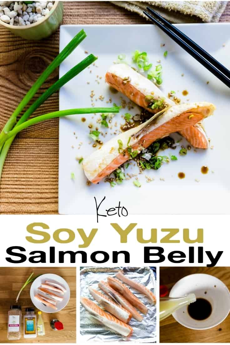Soy Yuzu Salmon Belly pin 2