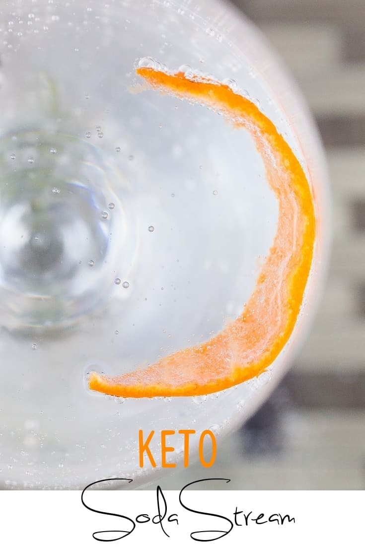 keto Soda Stream Carbonated Water pin 2