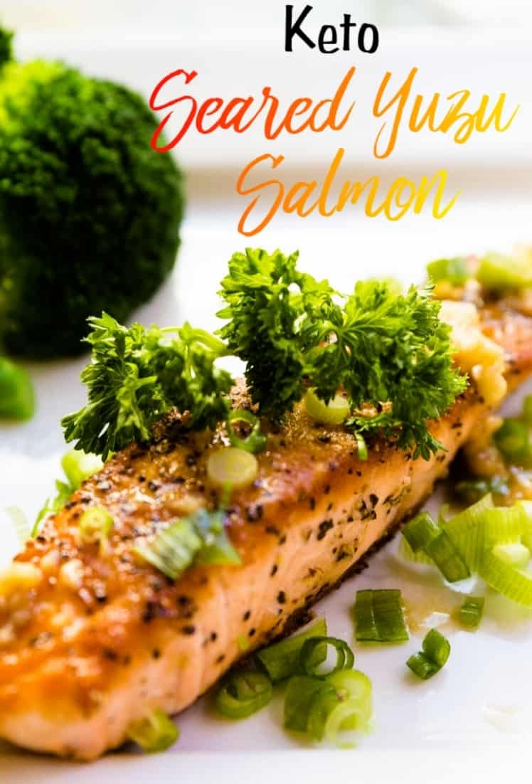 keto Yuzu Seared Salmon pin 2
