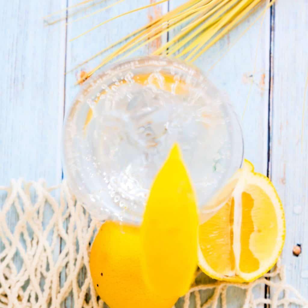 Sparkling Yuzu Lemon Water LowCarbingAsian Pic