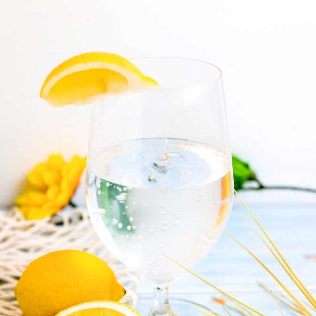 Sparkling Yuzu Lemon Water LowCarbingAsian Pic 2