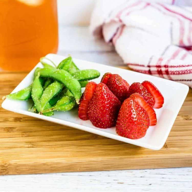 Strawberry & Sea Salt Garlic Edamame LowCarbingAsian Cover