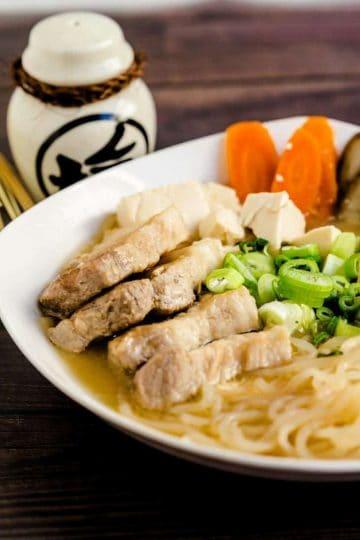 Tonjiru Pork Miso Soup LowCarbingAsian Cover