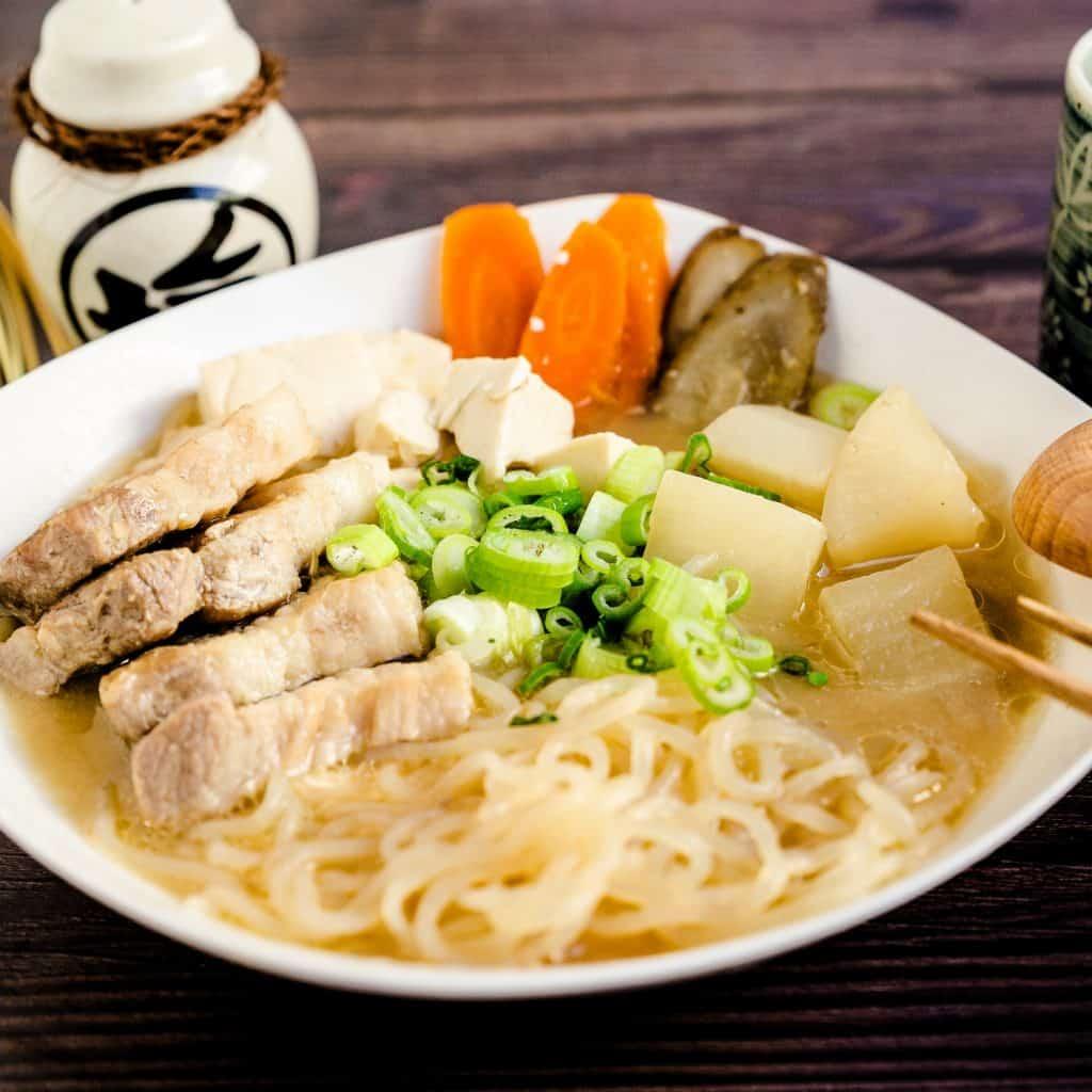 Tonjiru Pork Miso Soup LowCarbingAsian Pic 1
