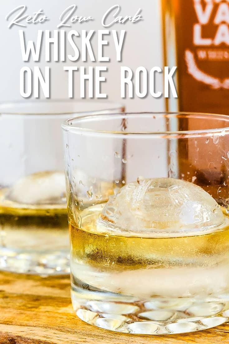 Whiskey on Rocks LowCarbingAsian Pin 1