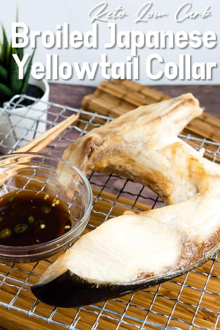 Broiled Japanese Yellowtail Collar