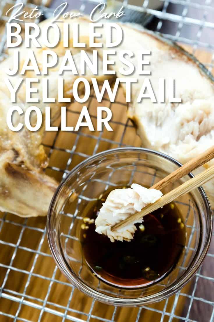 Broiled Japanese Yellowtail Collar Pin 2