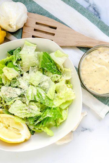 Caesar Salad Dressing LowCarbingAsian Cover