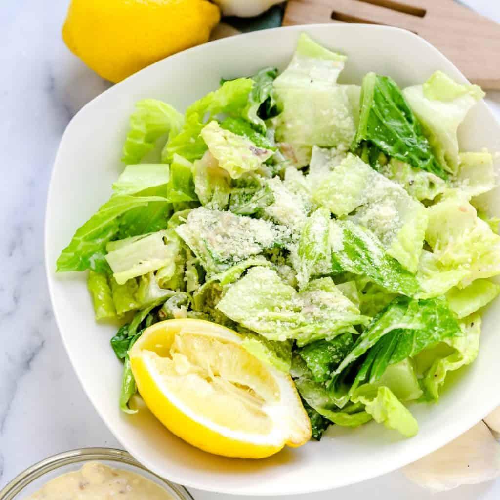 Caesar Salad Dressing LowCarbingAsian Pic 1