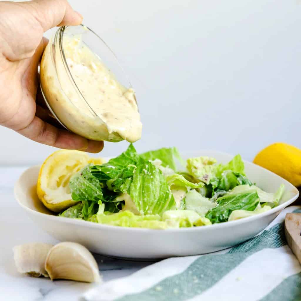 Caesar Salad Dressing LowCarbingAsian Pic 2