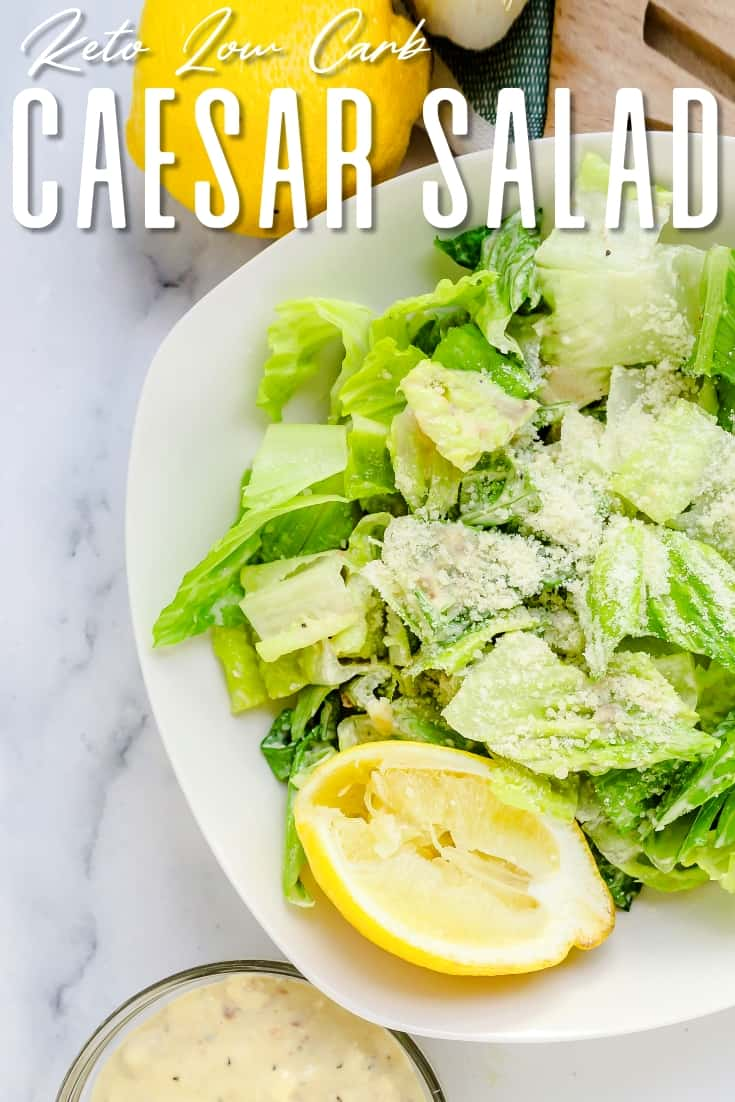 Caesar Salad Dressing LowCarbingAsian Pin 2