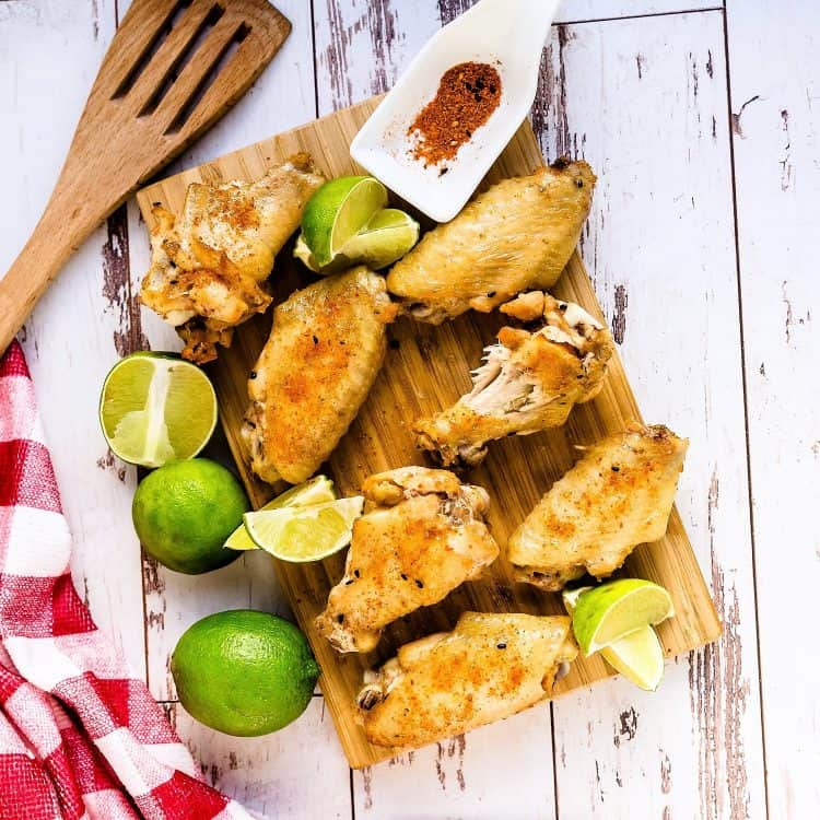 Chili Lime Chicken Wings LowCarbingAsian Cover