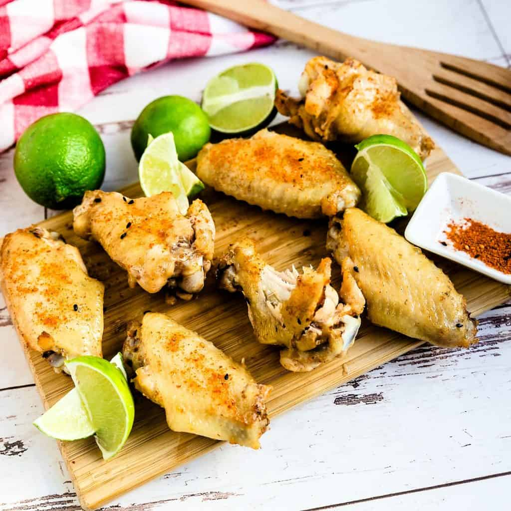 Chili Lime Chicken Wings LowCarbingAsian Pic 1